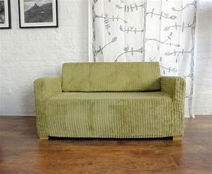 slip cover for the ikea solsta sofa bed corduroy fabric With solsta sofa bed cover
