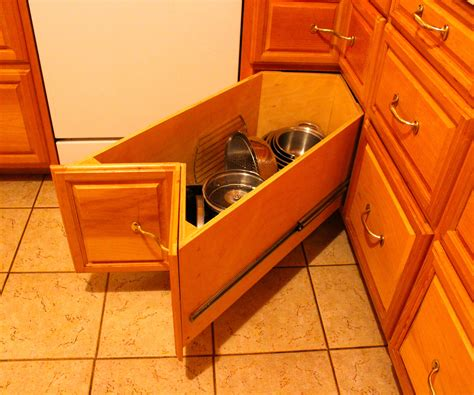 how to build kitchen cabinet drawers homemade kitchen corner drawers