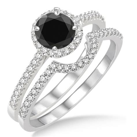 and cheap black wedding ring sets for great wedding marina
