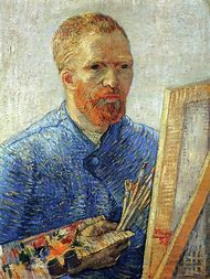 Vincent Van Gogh Portrait of an Artist