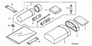 Honda Atv 2004 Oem Parts Diagram For Tools