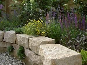 Steine Für Terrasse : trockenmauer und terrasse arbeiten mit naturstein ~ Michelbontemps.com Haus und Dekorationen