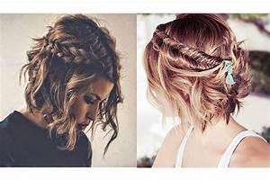 Tresse Cheveux Courts : cheveux courts nos 10 id es coiffure babillages le blog beaut des beauty addicts ~ Melissatoandfro.com Idées de Décoration