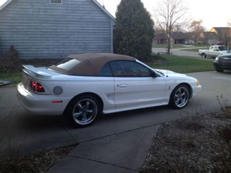 how can i learn more about cars 1997 dodge dakota interior lighting find used 1997 ford mustang cobra convertible more pics added in fort wayne indiana united