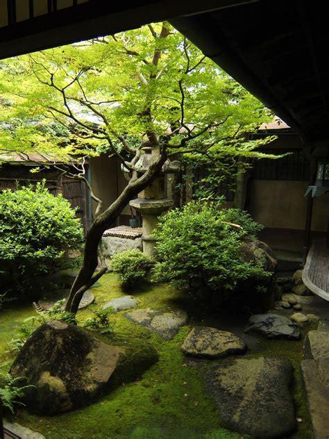 japanese garden homes gardens simple minimalist designs unique light enclosed japan modern read interior landscape plants zen