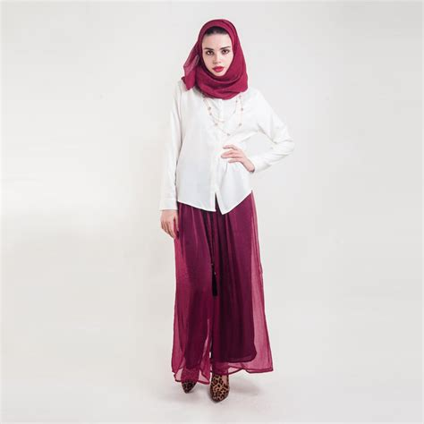Hijab with Palazzo Pants-20 Ways to Wear Palazzo Pants Modestly