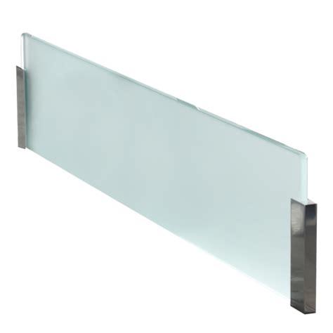 credence en verre transparent cuisine credence verre transparent dootdadoo com idées de