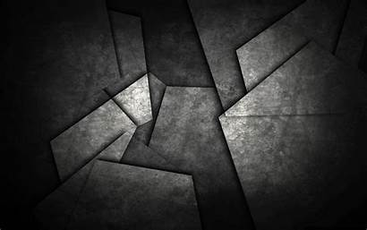 Abstract Dark Metal Pattern Shapes Monochrome Triangle