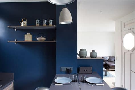 cuisine en bleu cuisine beige quelle couleur pour les murs