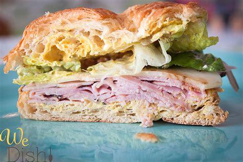 It's great on a sandwich; We Dish!: Gourmet Ham & Swiss