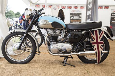 British Motorcycle History With Classic Triumph Bonneville