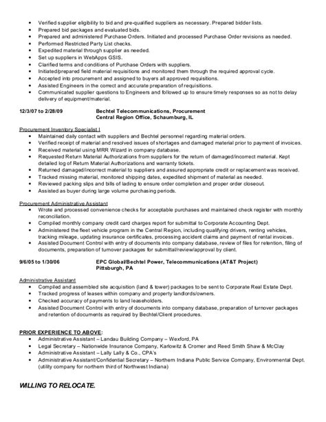 Purchase Order On Resume by Purchase Order Resume