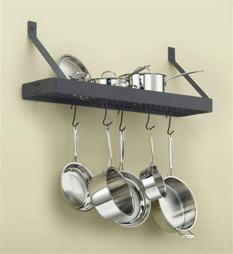 wall mount pot rack wall mount pot rack by cuisinart in wall mount pot racks
