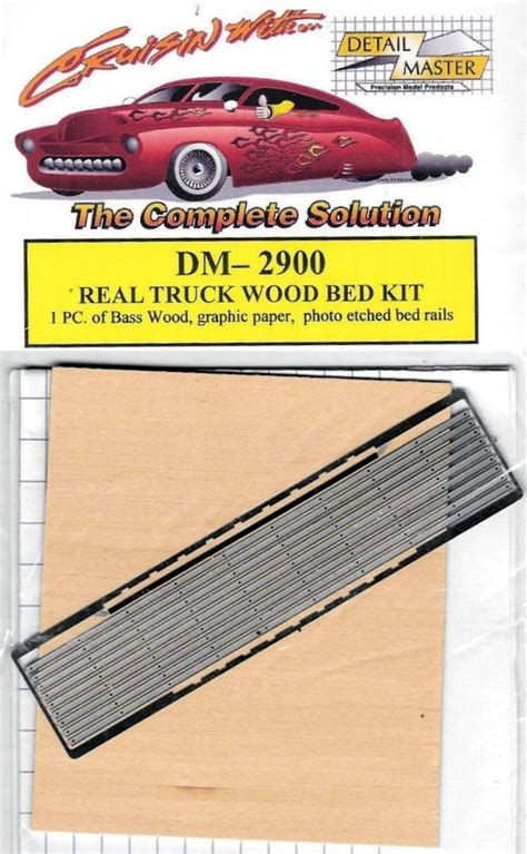 real truck wood bed kit