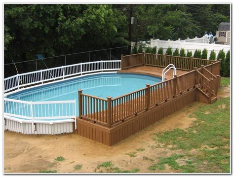 above ground oval pool deck pictures above ground oval swimming pool deck designs decks