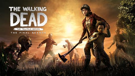 telltale games  walking dead  final season key art
