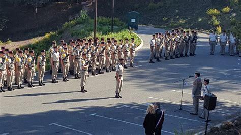 cérémonie de passation de commandement du 21ème rima de fréjus