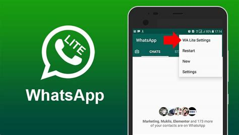 whatsapp lite app for android lightweight apk