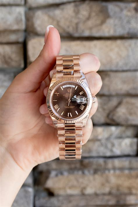 Review: Day-Date 40 Rolex President in Everose Gold with ...