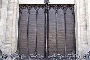 Luther Door & Martin Luther Ninety-Five Theses Being ...