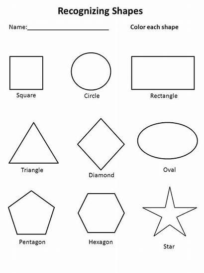 Worksheets Shape Shapes Worksheet Children Activity Advice