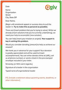 donation letter template for non profit organization With donation request letter for non profit organization