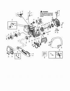 Poulan Model P3314 Type 1 Chainsaw  Gas Genuine Parts