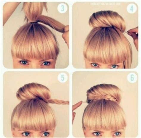 high bun hairstyles step by step google search bun