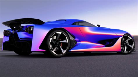 Vision Gran Turismo Specs by 2014 Nissan Nc2020 Vision Gran Turismo In Nine New Colors