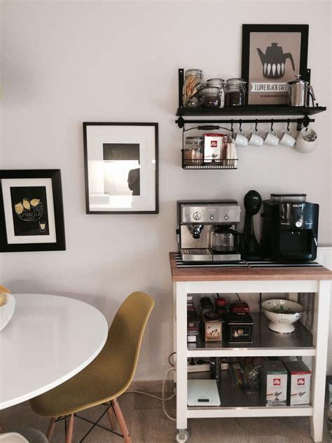 spaces  ikea coffee bar