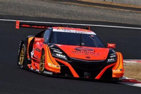 super gt arta nsx gt test racingblog