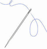 Clip Art Black And White Crochet Needles Clipart - Clipart ...