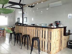 Meuble De Cuisine En Palette : bar en palette recherche google palette palette bar en bois de palettes et bar palettes ~ Dode.kayakingforconservation.com Idées de Décoration