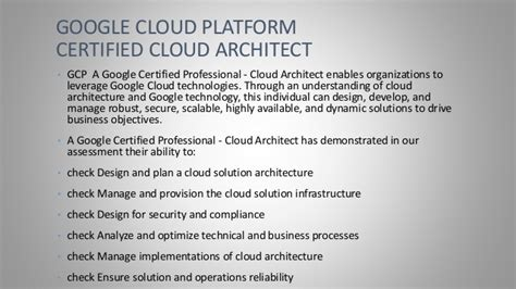 cloud certification cloud certification cloud architect review