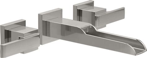 Delta Ara Waterfall Faucet by Faucet T3568lf Sswl In Brilliance Stainless By Delta