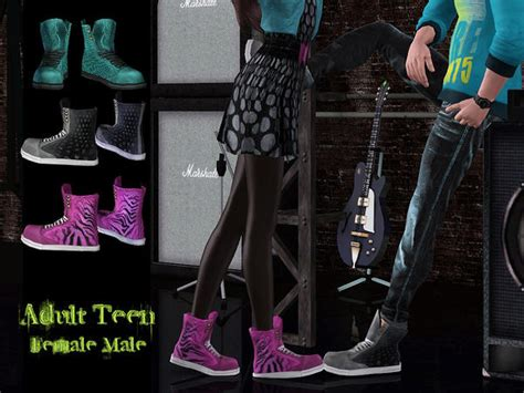 Shoes Set 1 For Adult-teen