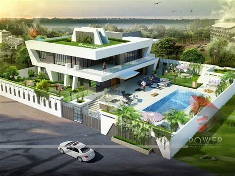 ultra modern home designs home designs house  interior exterior design rendering