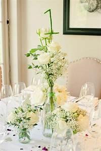 Idees de decoration salle de mariage avec des fleurs for Salle de bain design avec décoration table de mariage