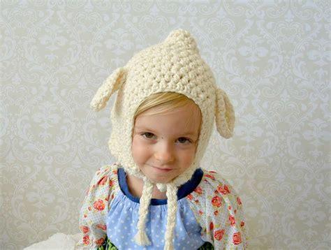 vintage lamb crochet toddler hat pattern favecraftscom