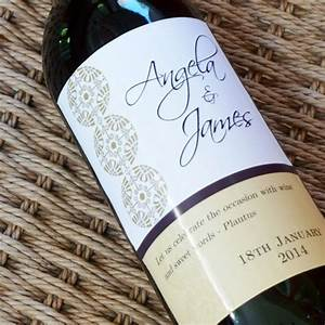 custom wine labels wedding anniversary with quote space With custom wine labels for weddings