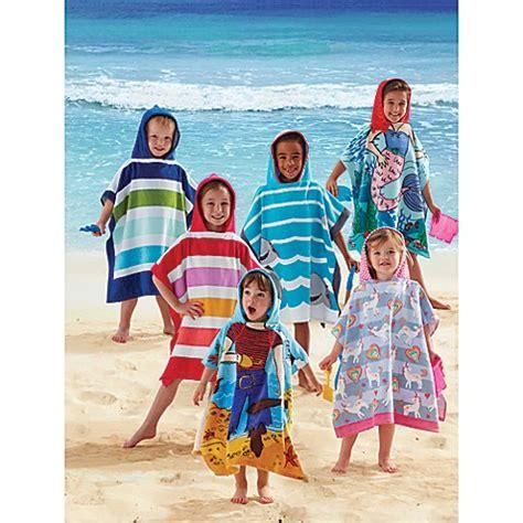 kids printed hooded beach towels bed bath