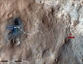 Pyramids On Mars? Nasa Engineers Drive Curiosity To