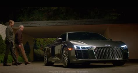 audi commercial super bowl audi r8 super bowl ad features david bowie s starman