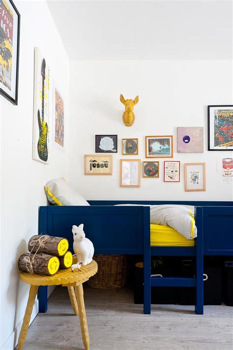 chambre denfants un lit cabane dans une chambre d 39 enfant blueberry home