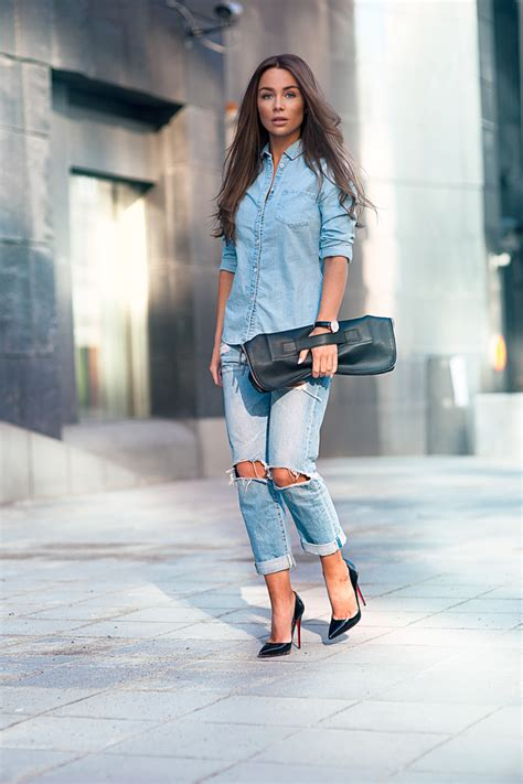 denim vest due our denim on denim trend file and