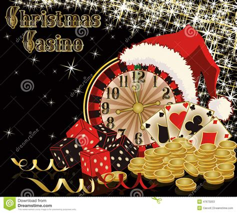 christmas casino background stock vector image 47673253