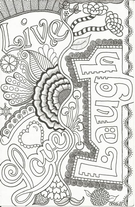 Coloring Books For Adults by Live Laugh Doodle By Plhill Lets Color Something
