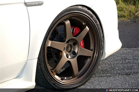 Cars With Bronze Rims : Bronze Wheels On Pearl White… Car-photo-white-diamond