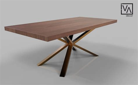 spider base metal dining table legs  sale solid rose gold