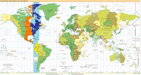brazil time zone map compared usa